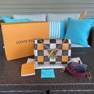 Louis Vuitton Monogram & Damier Twist MM